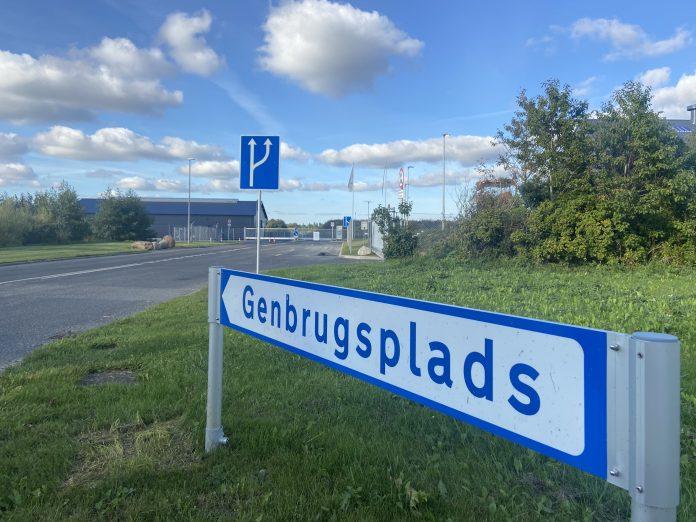 Genbrugspladsen i Aabybro